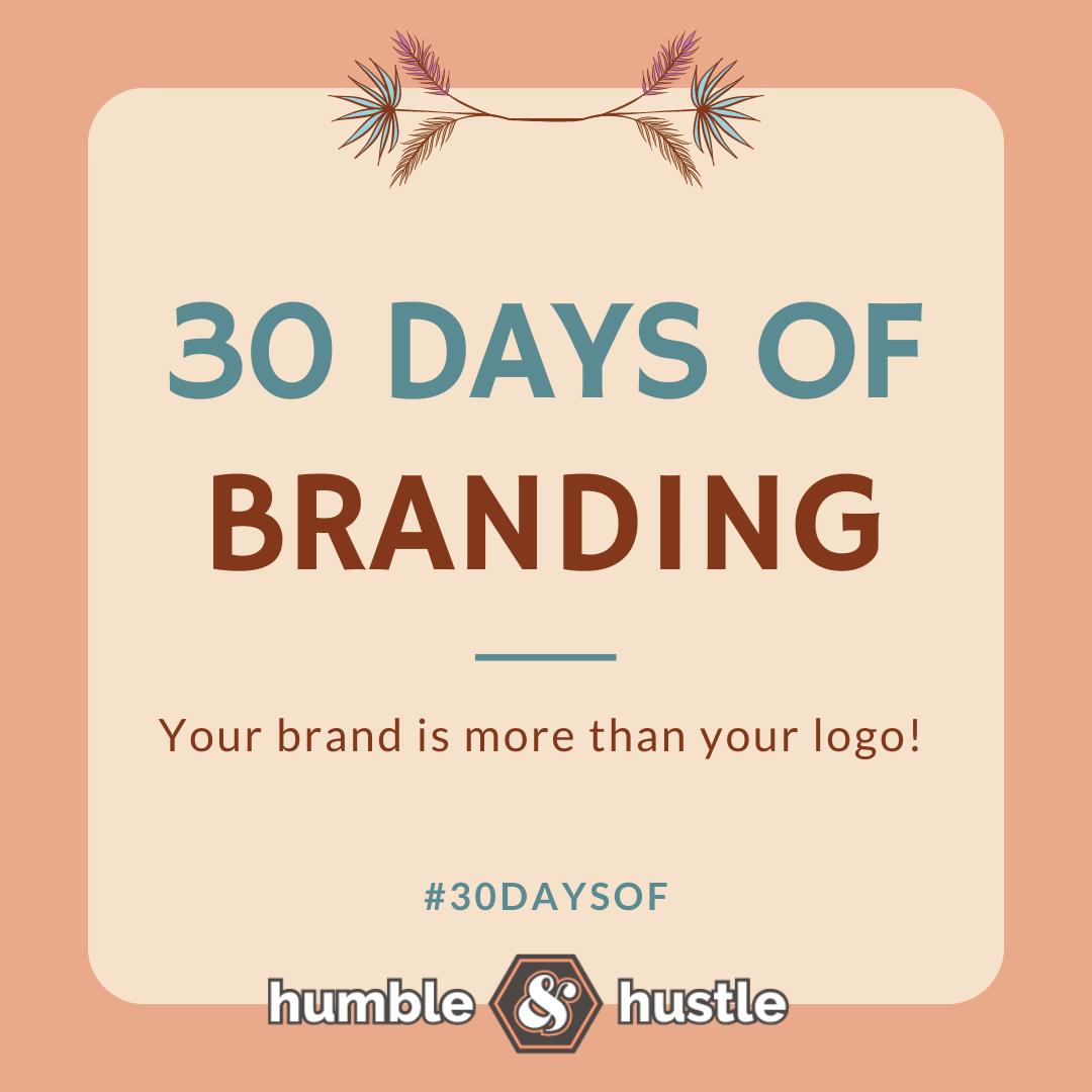 #30DaysOf Branding